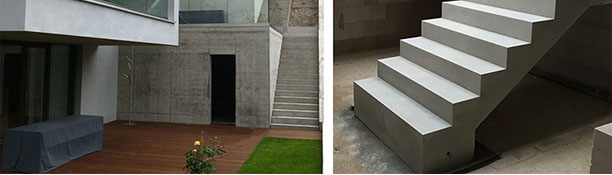 exklusive fertigteiltreppen bei treppen aus beton. Black Bedroom Furniture Sets. Home Design Ideas